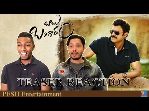 Babu Bangaram Teaser Reaction & Review  ...