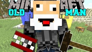 Minecraft: I AM AN OLD MAN! (BINGO CARDS, DENTURES, CANES, & MORE!) Mod Showcase