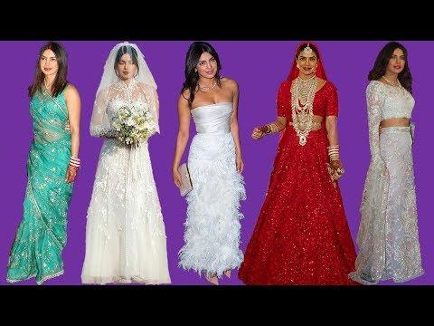 All the gorgeous wedding outfits' Priyanka Chopra