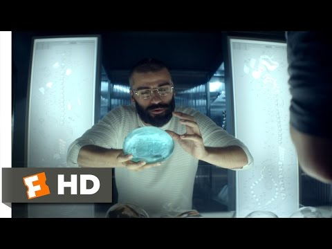 Ex Machina (4/10) Movie CLIP - How Ava Was Created (2015) HD