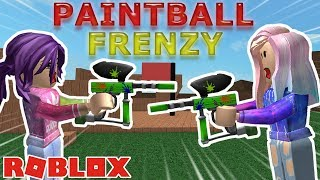 Roblox: Paintball Frenzy / ULTIMATE TEAM PAINTBALL BATTLES! 🏳️