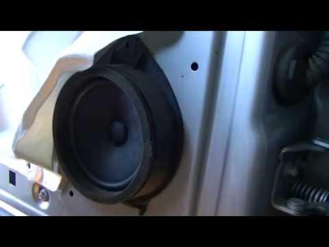 Part 2 2007 13 Gm Truck Front Speaker Install Silverado