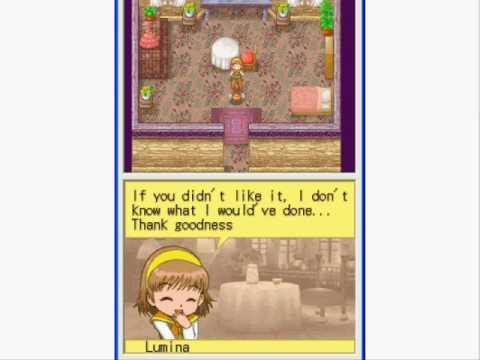 Harvest Moon DS Cute - Daughter's Tea Cutscene - YouTube