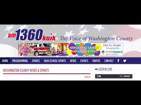 Willamette Water Supply radio interview - KUIK 1360 Feb 3, 2017