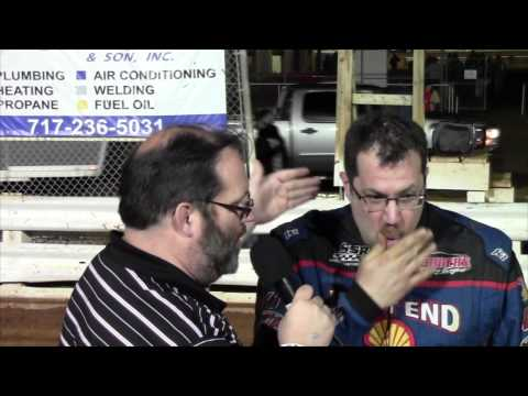Williams Grove Speedway 358 Sprint Car Victory Lane 4-10-15