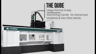 Qube Series CNC Machine by C.R. Onsrud