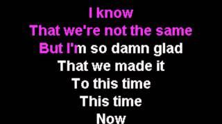 One Republic - Something I Need (Karaoke Instrumental) On Screen Lyrics