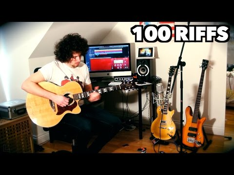 100 Rock Riffs Goes Acoustic! Part 2