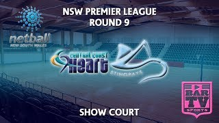 2018 Netball NSW Premier League Round 9 - U20s/Opens - Showcourt - Central Coast Heart v Stingrays