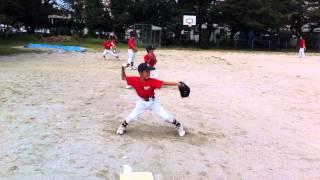 キャッチボール 少年野球 投げ方 baseball throwing 子どもを投げつける 検索動画 27