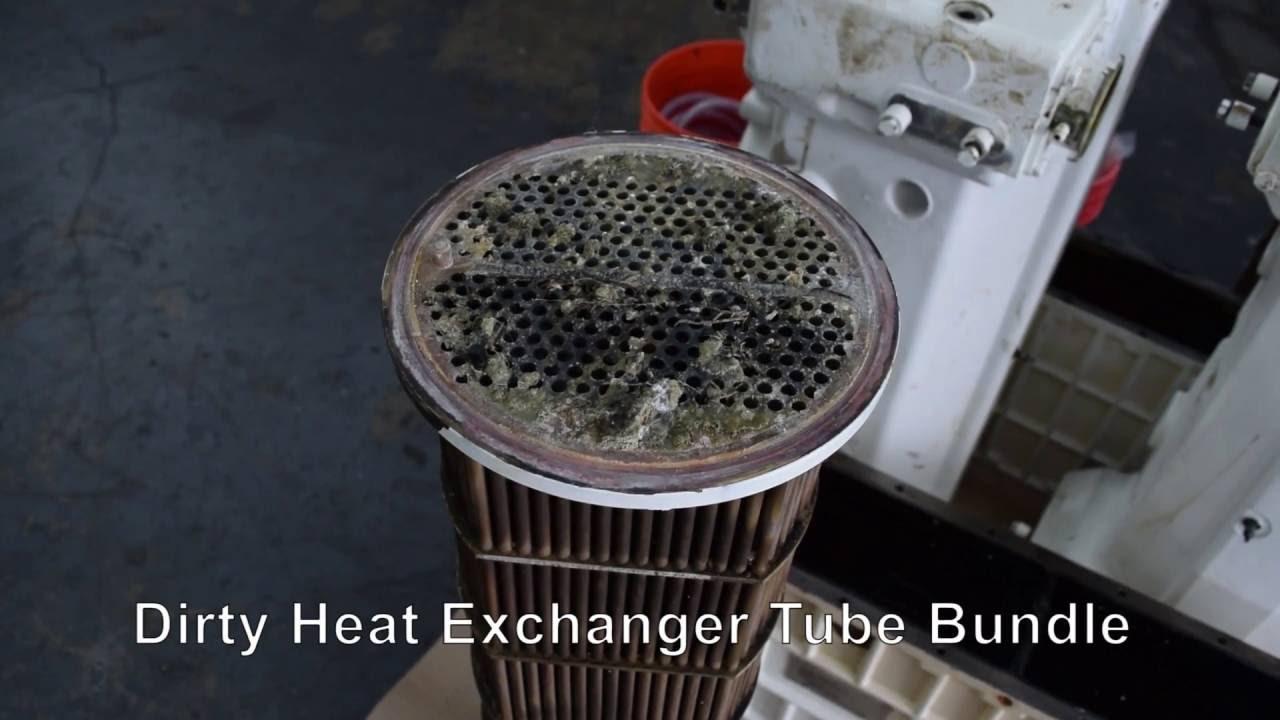 Marine Diesel Engine Intercooler Cleaning and Maintenance