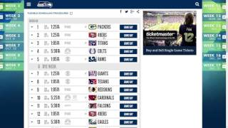 Seattle Seahawks 2017 NFL Schedule Predictions