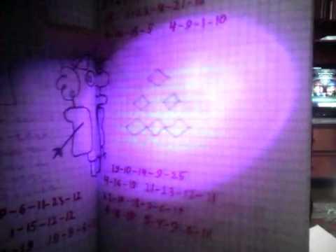 Как сделать невидимые чернила под ультрафиолетом 53