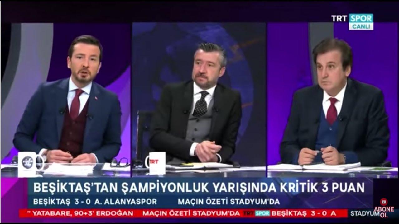 Stadyum Besiktas Aytemiz Alanyaspor 3 0 Mac Sonu Yorumlari Cenk Tosun Atiba Ghezzal Yorumu Youtube