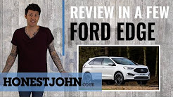 Car review in a few | Ford Edge 2018 - all the appeal of a Florida holiday rental car