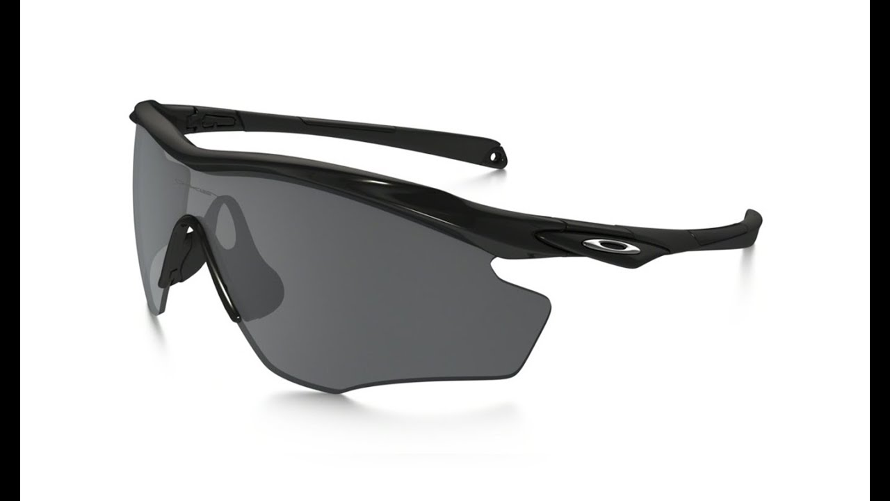 596d701fabc66 OAKLEY M2 FRAME XL OO9343 04 BLACK IRIDIUM - YouTube