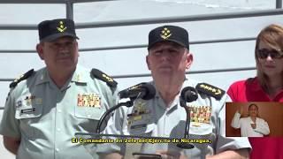 Inauguración de Albergue de Asociación de Esposa de Militares del Ejercito de Nicaragua