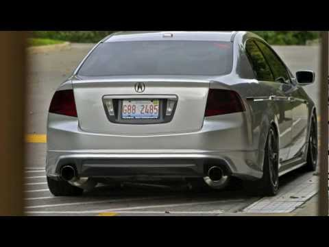 Best Acura TL Exhaust System AcuraZine Acura Enthusiast Community - 2006 acura tl performance parts