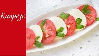 Капрезе - легкая закуска из Италии(Капрезе - это легкая закуска родом из Италии, которая заслуженно стала одним из представителей национально..., 2016-02-05T12:40:45.000Z)