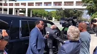 49ers linebacker Reuben Foster arrives at court thumbnail