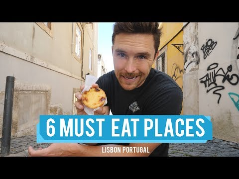 My 6 MUST EAT PLACES in Lisbon Portugal - Vlog 204