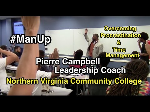 Leadership Coach Pierre Campbell Man Up Northern Virginia Community College