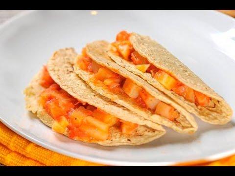 Tacos De Papa Potato Tacos