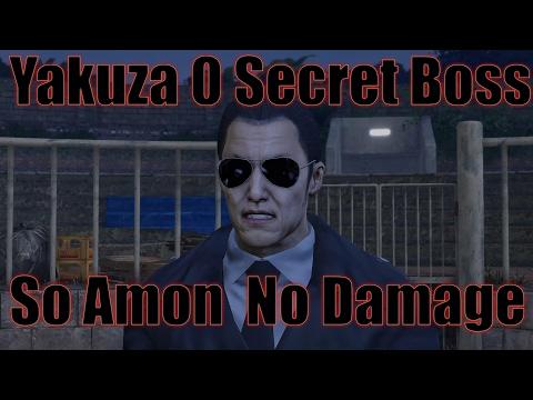 Yakuza 0 - Secret Boss - So Amon NO DAMAGE NO WEAPONS