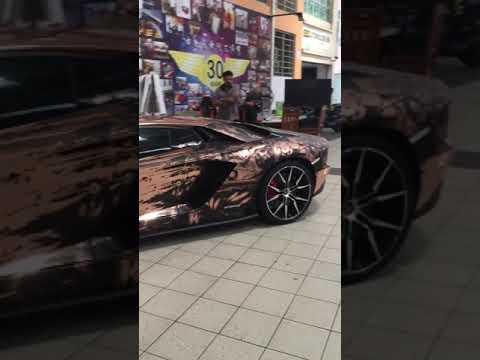 Lamborghini aventador S sound in malaysia