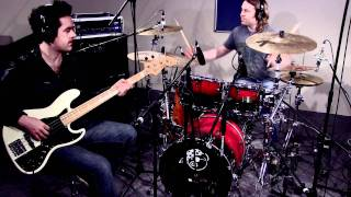 Blues Rhythm Section (Drums and bass soloed)
