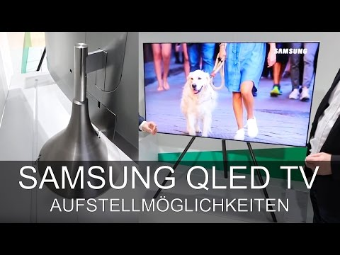 Samsung Gravity Stand und Studio Stand - Roadshow 2017 - Thomas Electronic Online Shop - Q7 Q8 Q9