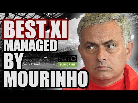 Best XI Managed By JOSE MOURINHO
