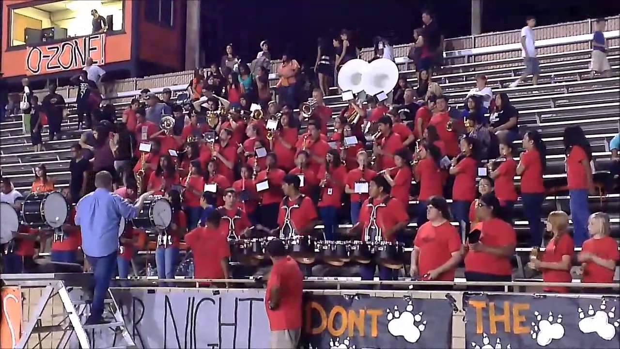 2013 Selma High Band At Football Game 1 Youtube