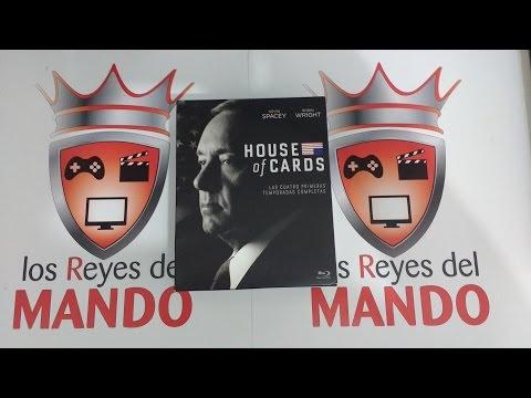 House of Cards box set Seasons 1-6