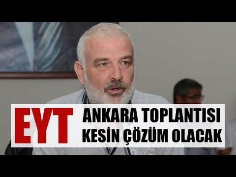 Ankara EYT Toplantısı Seçimden Önce Yasayı Getirir