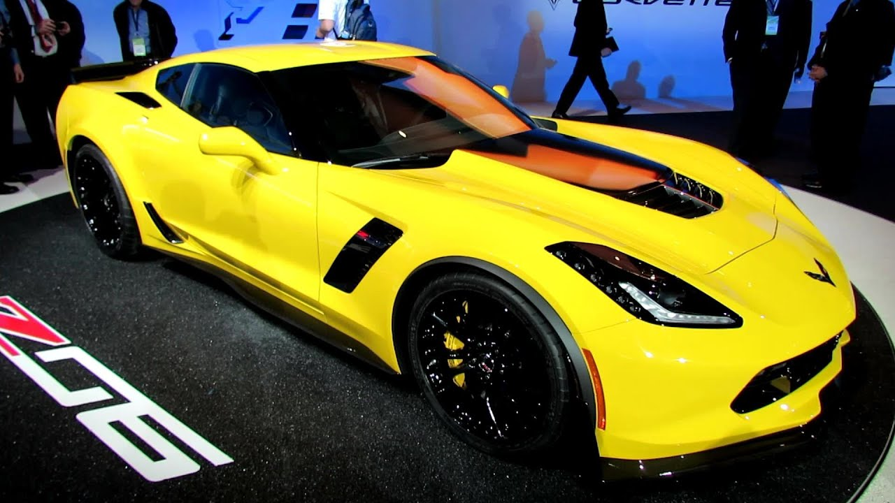 2015 Chevrolet Corvette Z06 Exterior And Interior