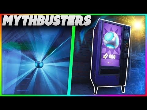 Can You Destroy A Vending Machine With A PortAFort?  PortAFort Thrown Off Map!  Mythbusters 17