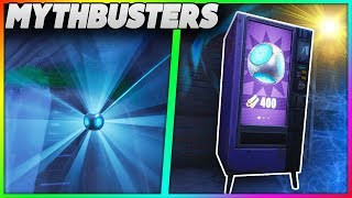 Can You Destroy A Vending Machine With A Port-A-Fort? | Port-A-Fort Thrown Off Map! | Mythbusters 17