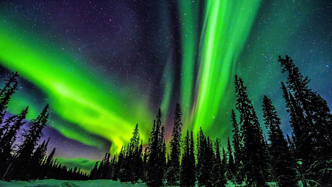 The Magic Of The Northern Lights   Lapland, Finland Nice Look