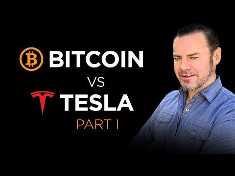 Part 1: Bitcoin Versus Tesla Thru 2025!  Who Wins? #2025 $TSLA BTC