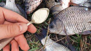 Всего 1 ложка и клюёт вся рыба секрет клёва рыбы