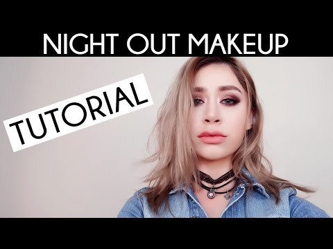 COOL TONE LADIES NIGHT OUT MAKEUP TUTORIAL