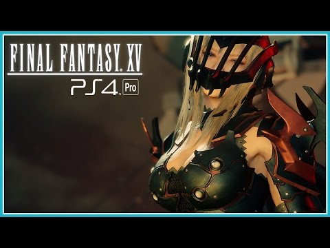 Final Fantasy XV #7 - Me Apaixonei!!!  Aranea Kawaii!! [ PS4 Pro - Legendado PTBR ]