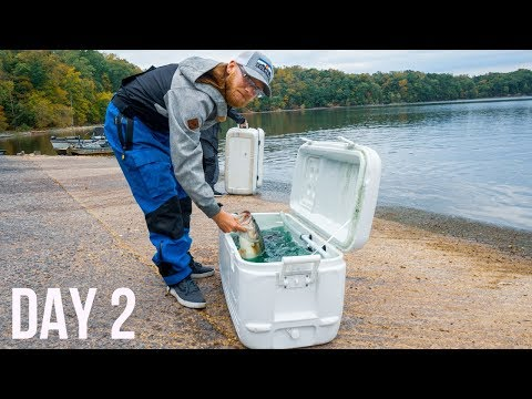Can We Hold The Lead To WIN THE CLASSIC?!?! Jon Boat Bass Fishing Tournament Day 2
