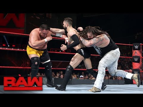 Finn Bálor vs. Bray Wyatt vs. Samoa Joe - Triple Threat Match: Raw, May 29, 2017