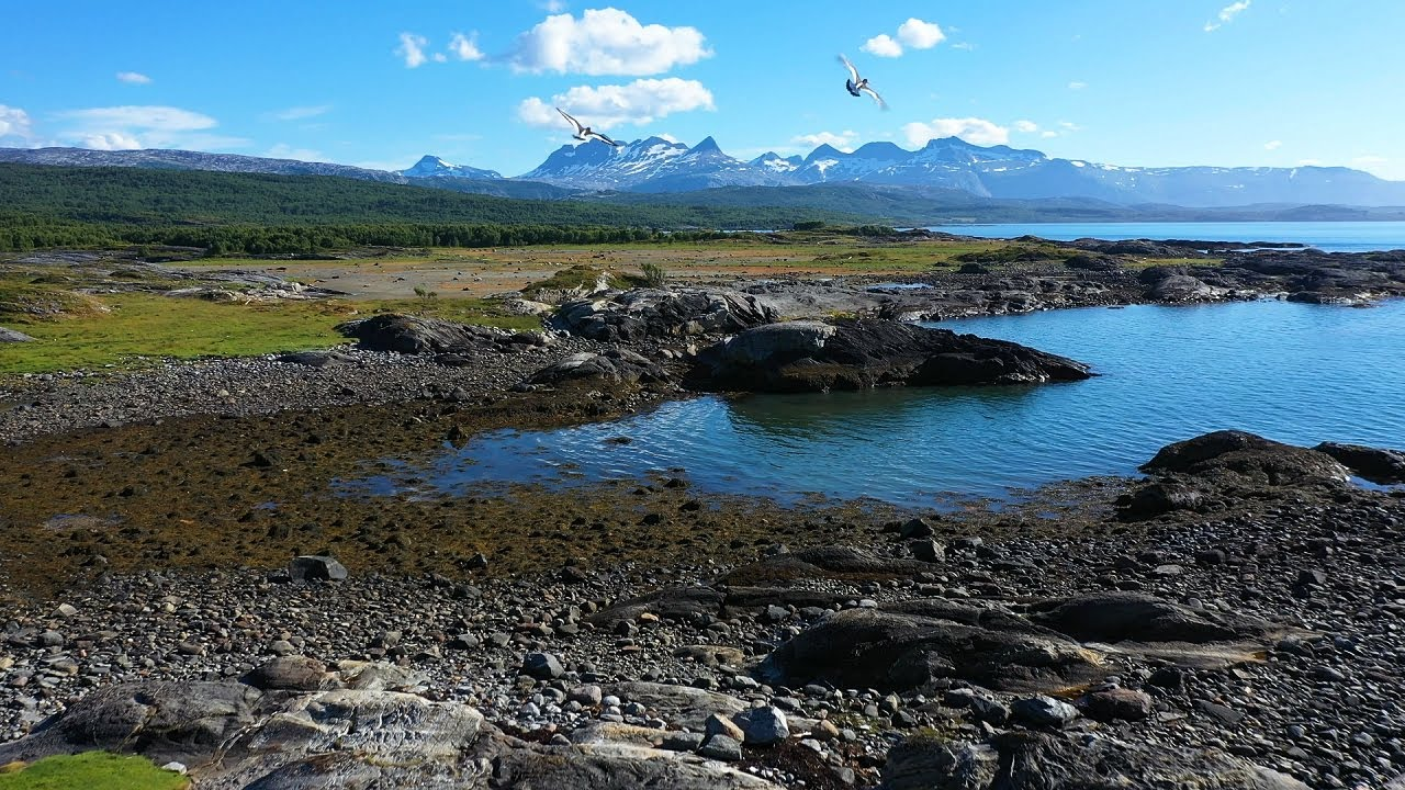 Tverlandet nature reserve in Bodø
