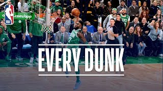 Jaylen Brown, Andre Iguodala and Every Dunk From Thursday Night | November 16, 2017