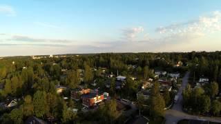 Afternoon flight in Huddinge Sweden