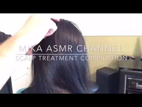 scalp massage and treatment compilation 👦🏻👩🏻