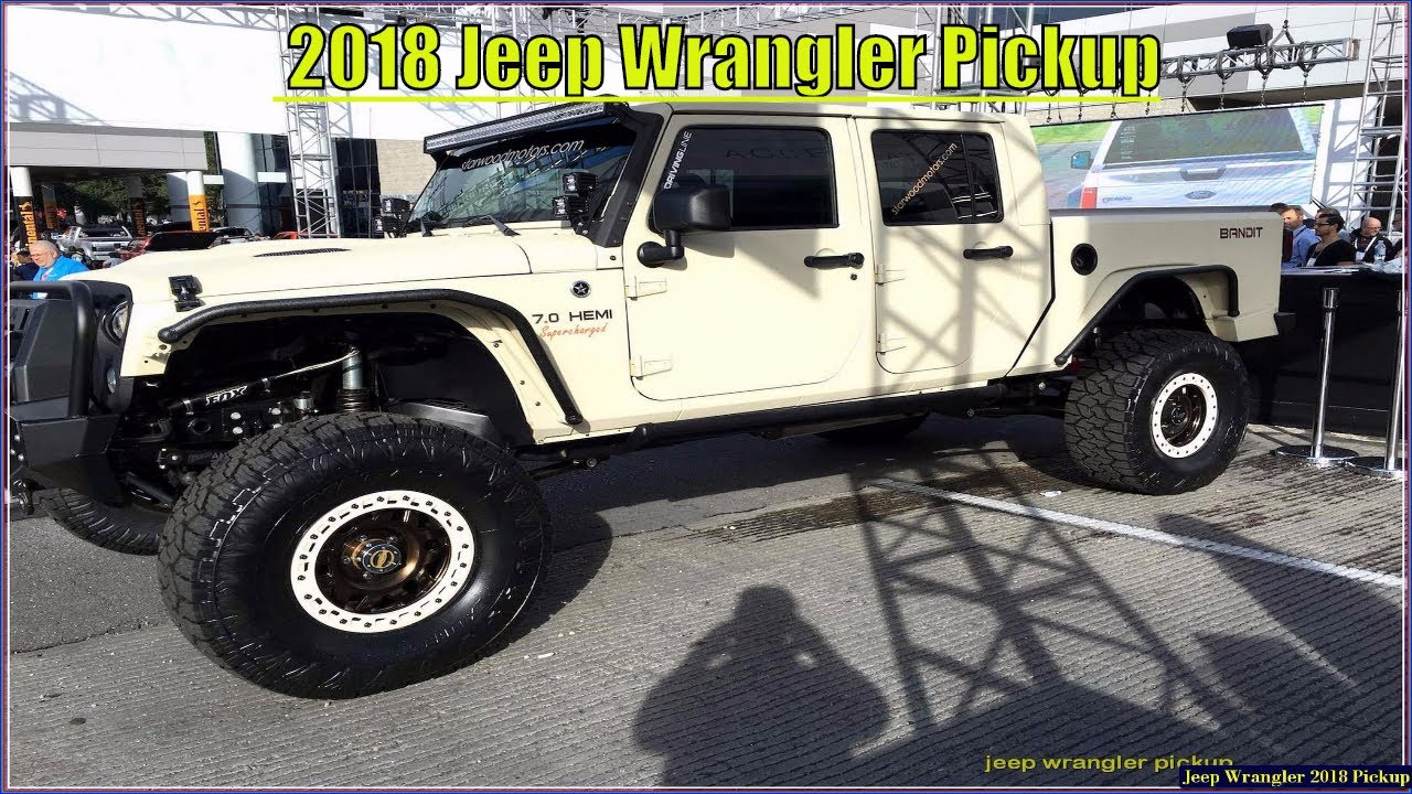 Jeep Wrangler Pickup New 2018 Truck Specs And Price